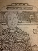Washington Dc Drawings - Rosa Parks Imagined Progress by Irving Starr