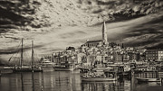Rovinj Bay At Sunrise Fine Art Print by Valerii Tkachenko