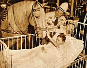 Unknown - Roy Rogers and Trigger with a Polio...