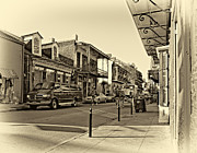 Steve Harrington - Royal Street in the Quarter monochrome