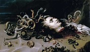 Medusa Posters - Rubens, Peter Paul 1577-1640. Head Poster by Everett