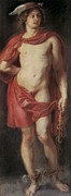 Rubens; Peter Paul (1577-1640) Metal Prints - Rubens, Peter Paul 1577-1640. Mercury Metal Print by Everett