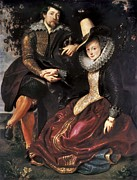 Rubens; Peter Paul (1577-1640) Metal Prints - Rubens, Peter Paul 1577-1640. Rubens Metal Print by Everett