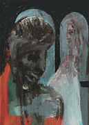 Expressionist Framed Prints - Sad Wedding Framed Print by Edgeworth Johnstone