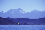 James Brunker - Sailing boat on Lake Titicaca