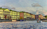 Saint Petersburg Prints - Saint Petersburg 8 Print by Yury Malkov