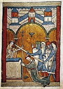 Miniatures Art - Salisbury, John Of H.115-1180 Becket by Everett