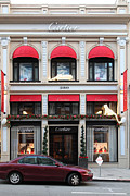 Wingsdomain Art and Photography - San Francisco Cartier Storefront -...
