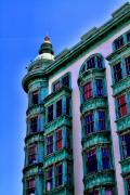 Sentinel Building Prints - San Francisco Glow By Diana Sainz Print by Diana Sainz