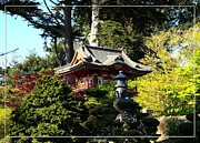 Japanese Village Prints - San Francisco Golden Gate Park Japanese Tea Garden 5 Print by Robert Santuci