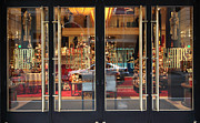 Wingsdomain Art and Photography - San Francisco Gumps Store Doors -...