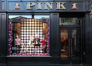 Wingsdomain Art and Photography - San Francisco Pink Storefront - 5D20565