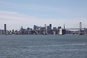 Wingsdomain Art and Photography - San Francisco Skyline and The Bay...