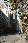 Wingsdomain Art and Photography - San Francisco Taxi Hailer on Market...