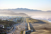 Daniel Furon - San Francisco Morning - The Great Highway Ocean Beach