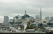 Suzanne Gaff - San Francisco View from Fishermans Wharf