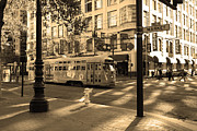 Wingsdomain Art and Photography - San Francisco Vintage Streetcar on...