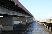 Wingsdomain Art and Photography - San Mateo Bridge in The California Bay...