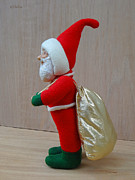 Painted Sculpture Sculptures - Santa Sr. - Another Load For The Sleigh by David Wiles