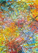 Science Paintings - Scatter by Regina Valluzzi