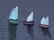 Barbara McMahon - Sea Glass Flotilla