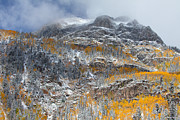 Colorado Mountain Prints Prints - Seasonal Chaos Print by Darren  White