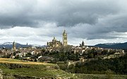 True Cross Metal Prints - Segovia Surrounded Metal Print by Lorraine Devon Wilke