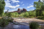 Red Rock Crossing Framed Prints - Serene Sedona Framed Print by Priscilla Burgers