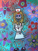 Pristine Cartera Turkus - Sexy Blond Nurse Day Of The Dead
