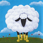 Christy Beckwith - Sheep Nursery Art