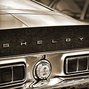 Carroll Shelby Originals - Shelby Cobra Sepia by Gordon Dean II
