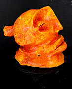 Fire  Sculpture Posters - Siddhartha Fire Poster by Mark M  Mellon