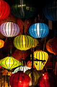 Fototrav Print - Silk lanterns in Hoi An city Vietnam