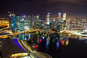 Fototrav Print - Singapore city skyline