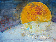Singing Mixed Media Originals - Singing Back the Sun by Cheryl Stevenson