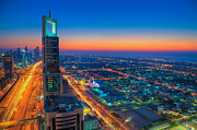 Fototrav Print - Skyline of Dubai city