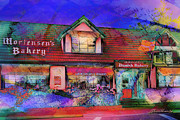 Carlos Mixed Media Posters - Solvang Bakery Poster by Arco Montufar