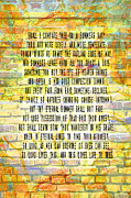 Sonnet Framed Prints - Sonnet 18 on Wall Framed Print by M Gilmore