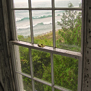 Mary Lee Dereske - South Manitou Island Lighthouse Window