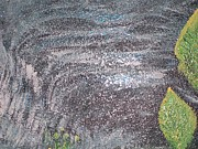 Stood Paintings - Sparkling Waterfall by Roberta Newell