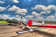 Aviation Metal Prints - Speedy Birds Metal Print by Tim Stanley