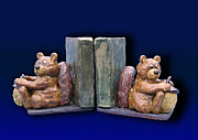 Jeanette Kabat - Squirrel Bookends