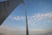 Stan Musial Art - St. Louis Gateway Arch Angular by David Haskett