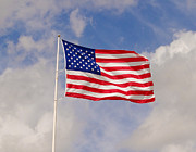 Flag Of Usa Originals - Standing Tall by Dennis Dugan
