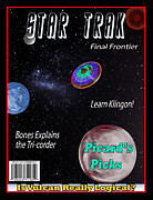 Magazine Cover Digital Art - Star Trak Magazine by John Haldane