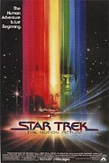 Movie Digital Art Metal Prints - Star Trek Poster Metal Print by Sanely Great