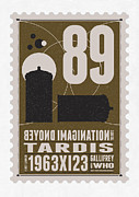 Science Fiction Art - Starschips 89-BONUS-poststamp - DR WHO - TARDIS by Chungkong Art