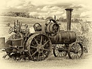 Steve Harrington - Steam Powered Tractor sepia