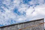Industrial Photos - Steel and Sky by Peter Tellone