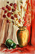 Old Objects Paintings - Still Life 3 by Alexandra-Emily Kokova